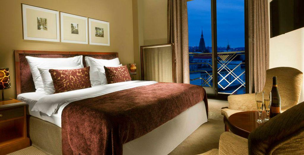 Hemos escogido para ti la habitación Superior con vistas a la ciudad