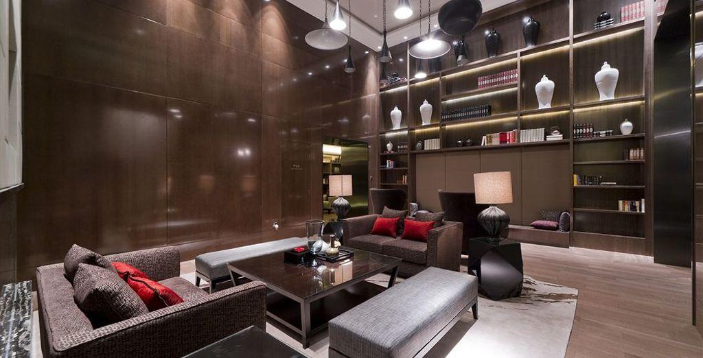 Otra de las opciones en Shanghai es Grand Mercure Shanghai Central 5*