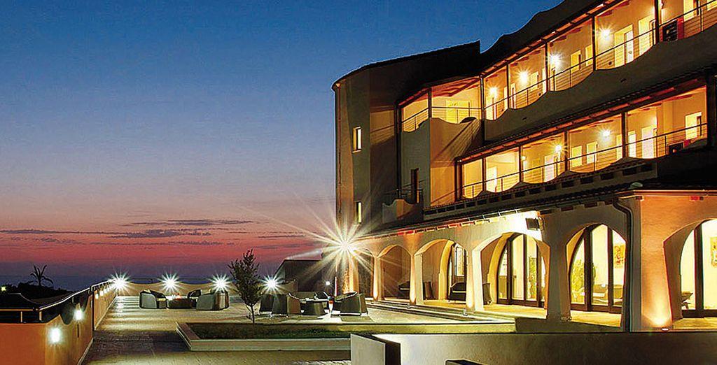 Un hotel con maravillosas vistas sobre el mar