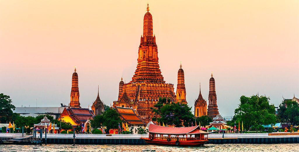 Un espectacular combinado que te llevará a Bangkok y a la paradisíaca Krabi