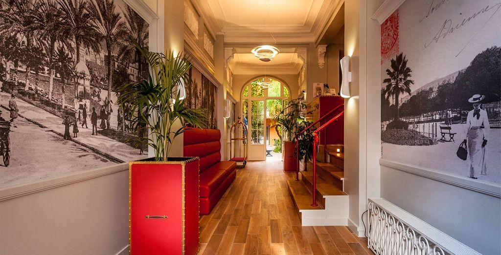 Bienvenido al Hotel Excelsior Nice