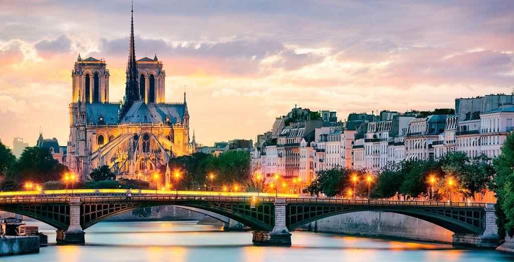 Descubra la mágica París