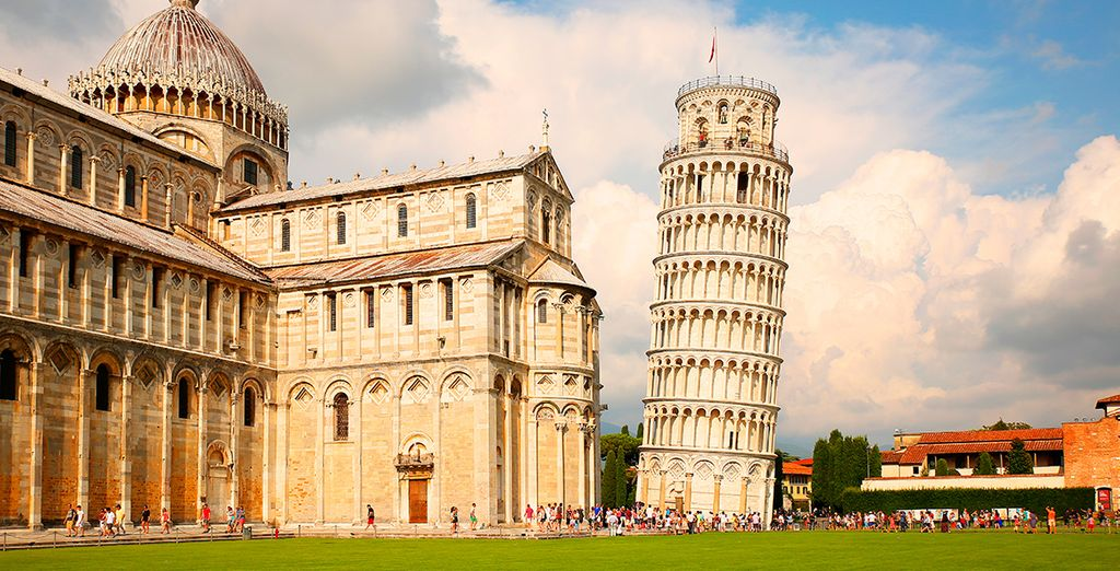 La Torre de Pisa en Italia