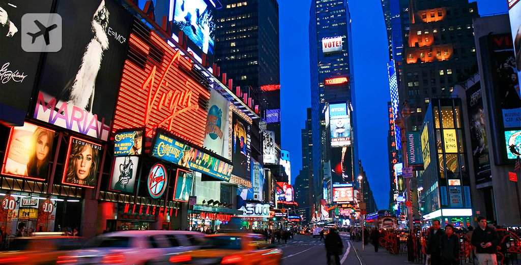 Times Square, el centro de Manhattan
