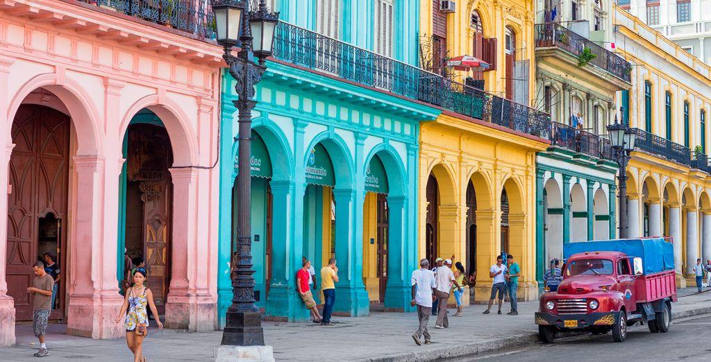...pero primero prepárate para conocer de cerca la Habana