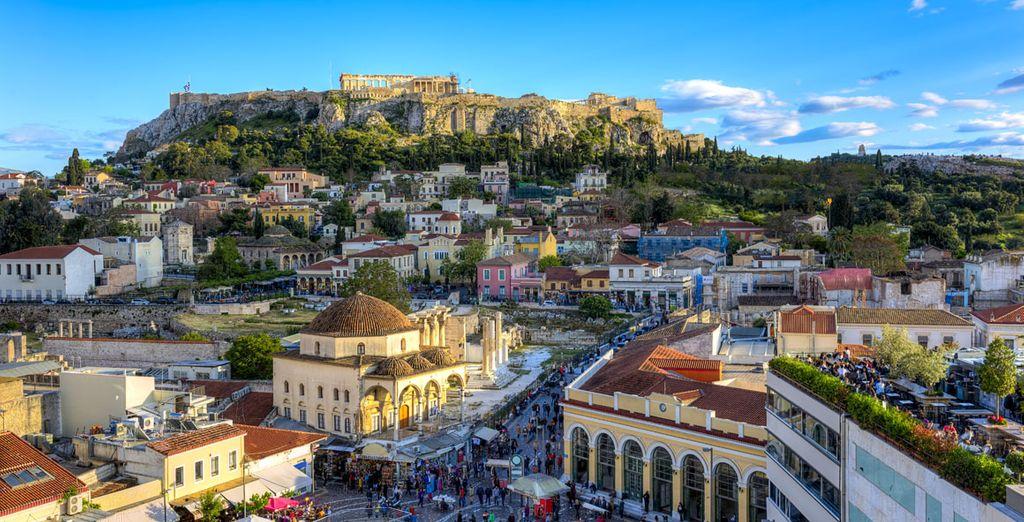 Vista de la ciudad de Atenas