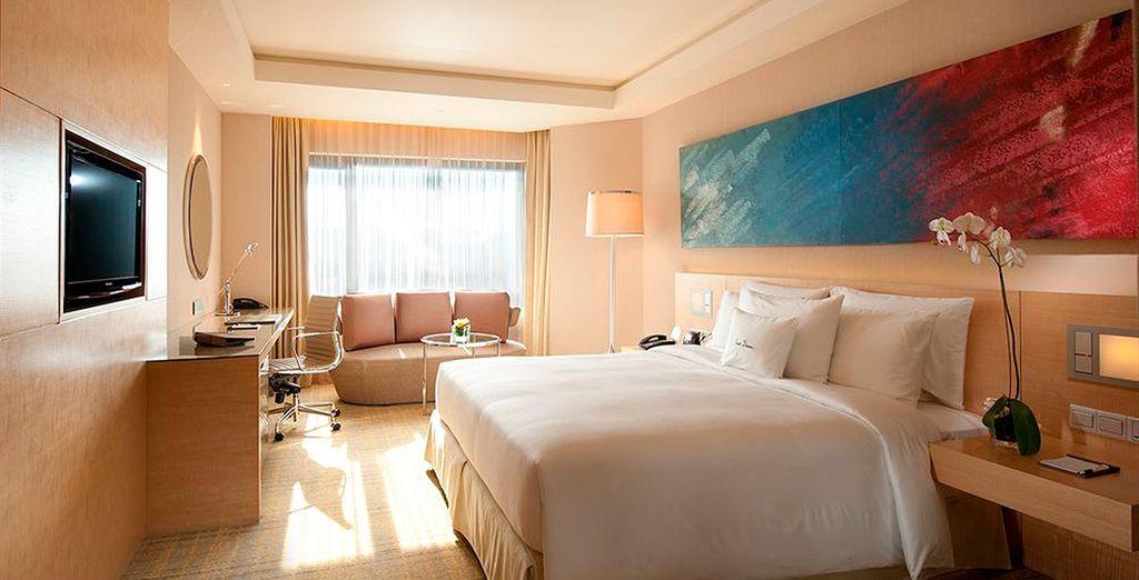 Le presentamos su lujosa habitación en Doubletree by Hilton Kuala Lumpur 5*