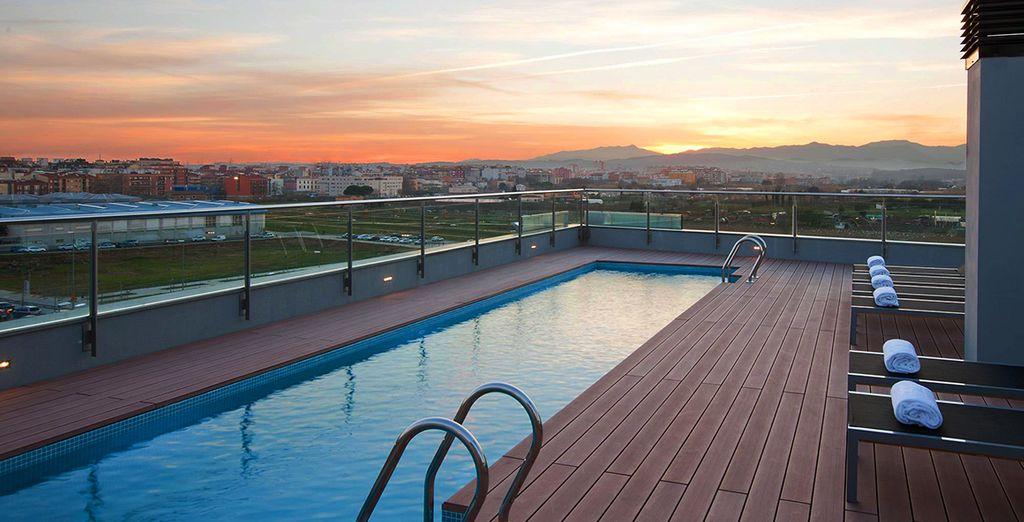 Descubra Girona desde este lujoso hotel en el centro de la ciudad