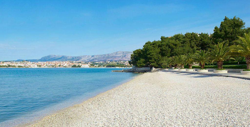 Una playa privada