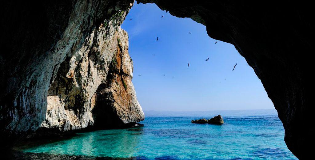 Vistas del mar Mediterráneo