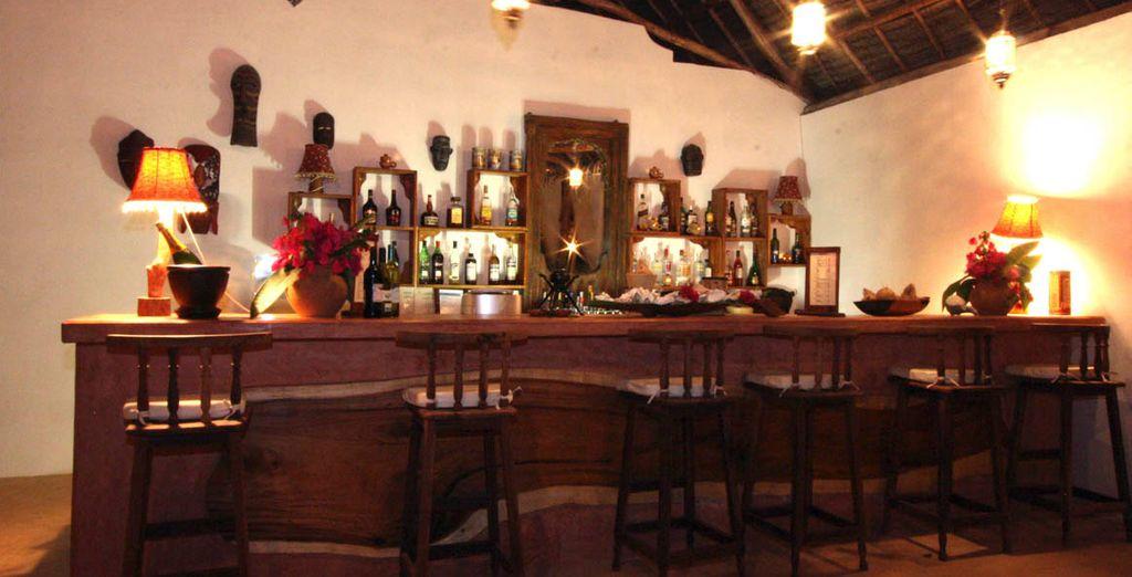 Tome una copa en el bar...