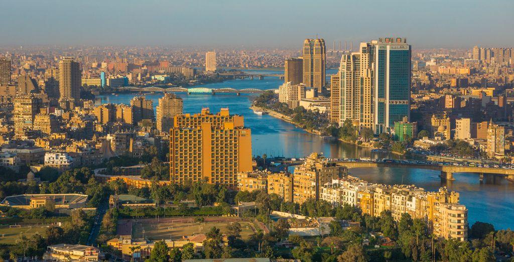 La última parada será en la capital egipcia, El Cairo