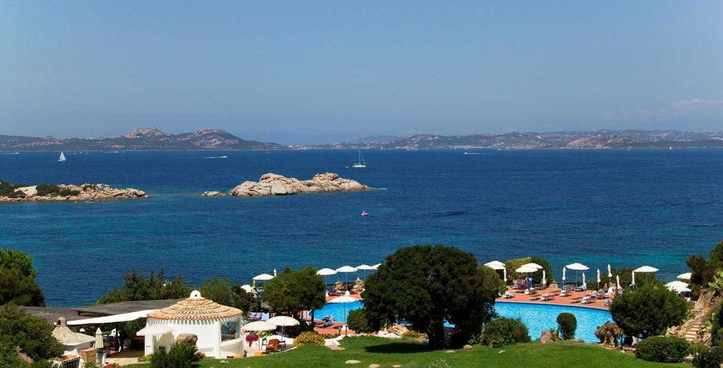 Vistas increibles al mar desde el hotel