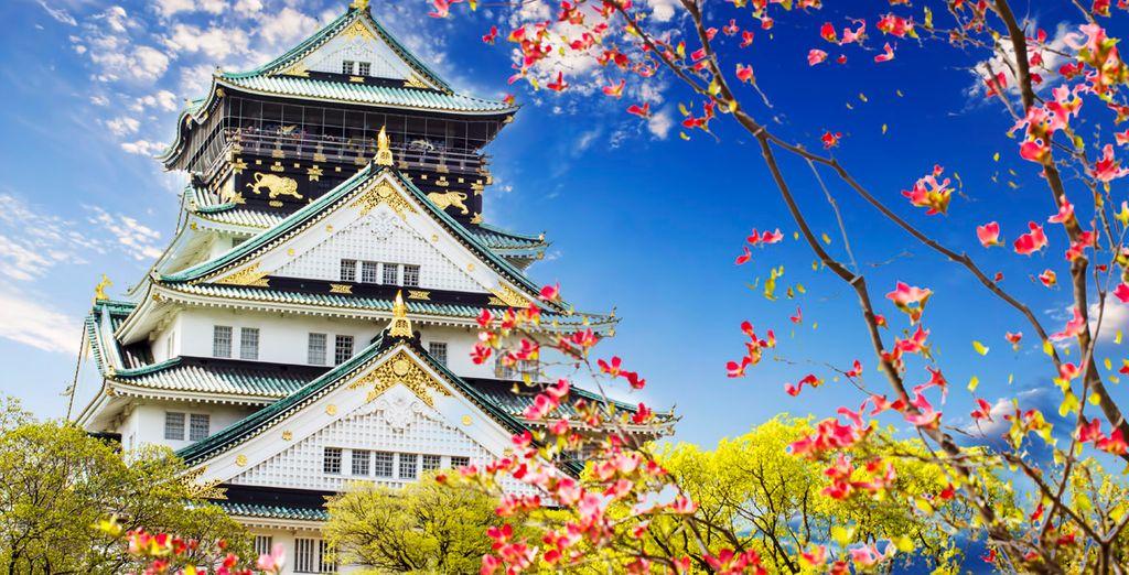 Templo en Osaka