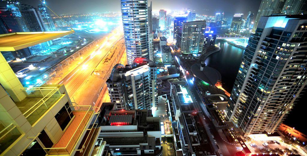 El vibrante ritmo de la ciudad
