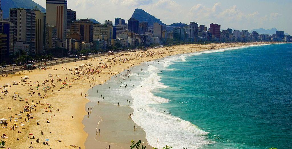 Relájese en las playas de Ipanema...