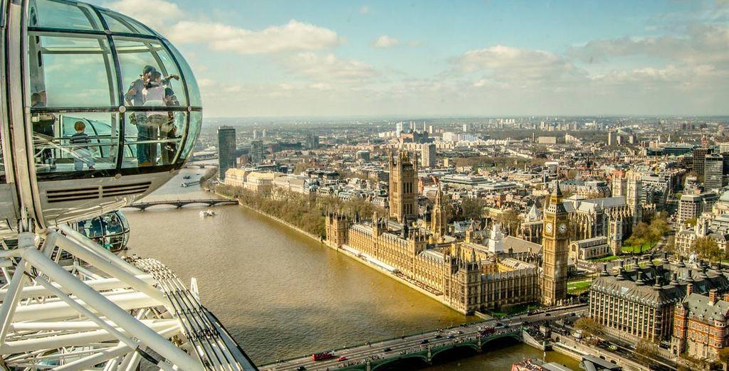 Disfrute de las vistas del London Eye