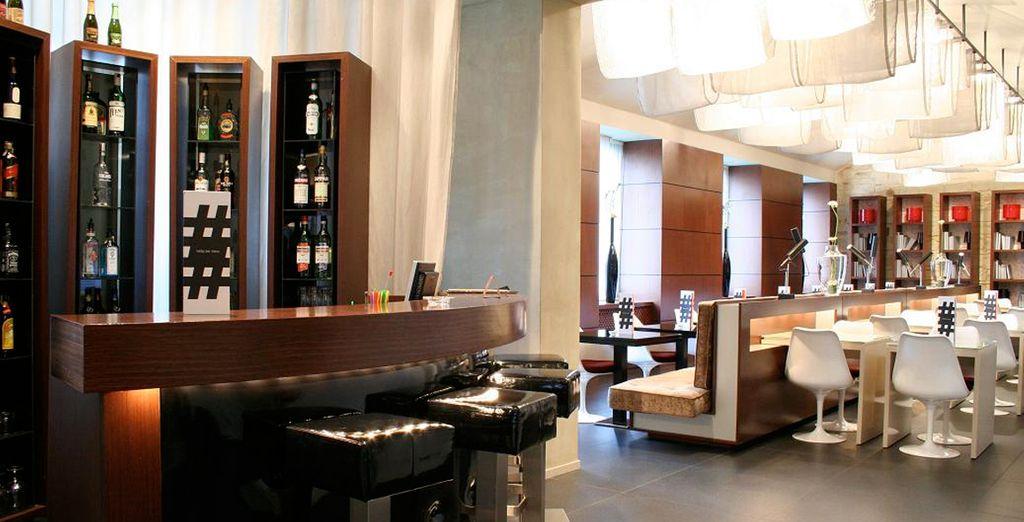 El Bar del Hotel un lugar perfecto para tomar algo