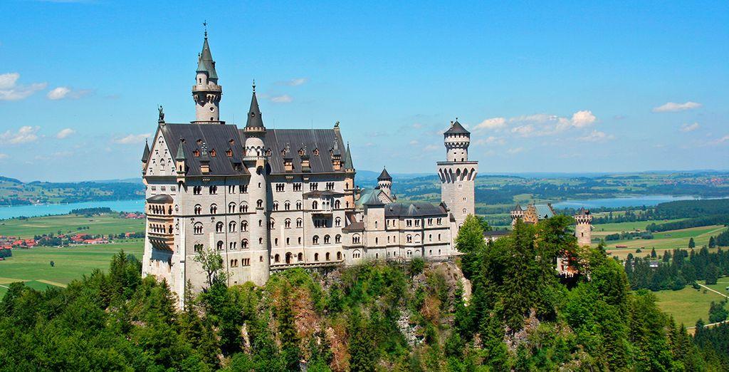 Visite el Castillo de Neuschwanstein