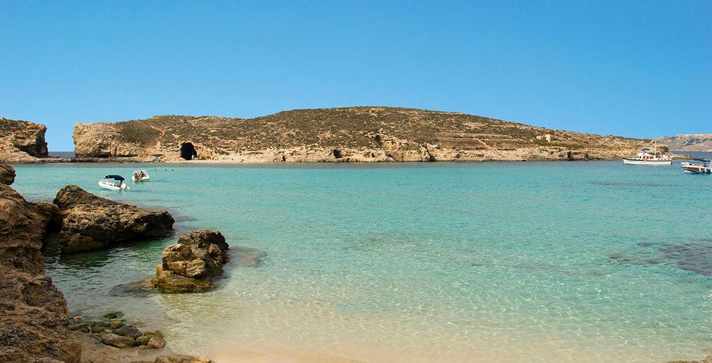 Disfrute de las numerosas playas de la isla
