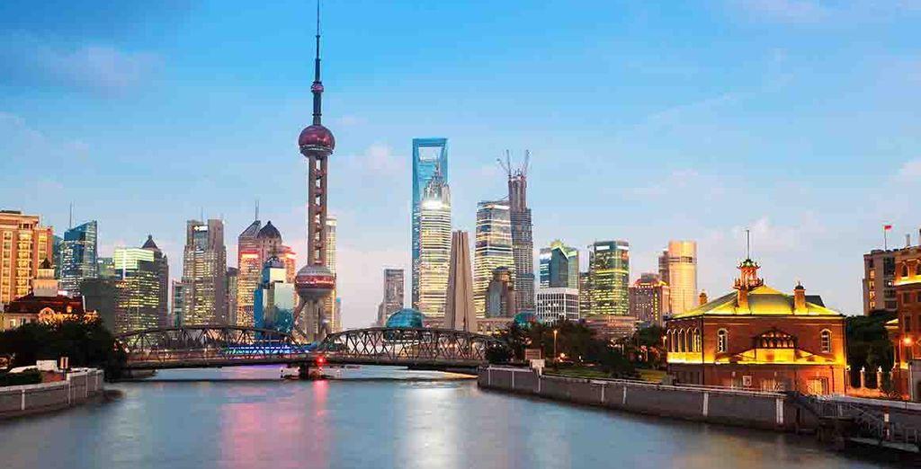 Descubra la espectacular Shanghai