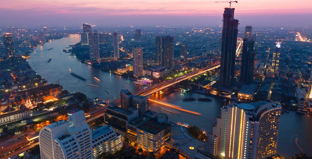 Bangkok es una ciudad muy occidentalizada y diversa