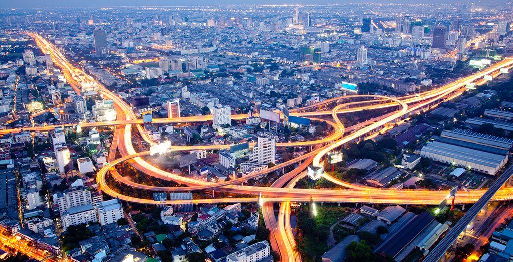 La vibrante ciudad de Bangkok