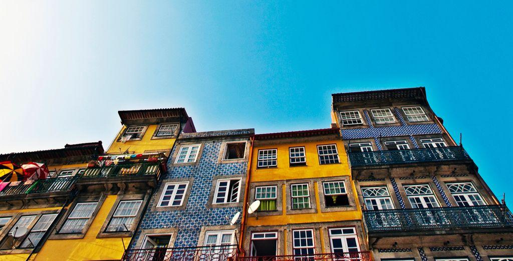 Las inconfundibles casas de Porto