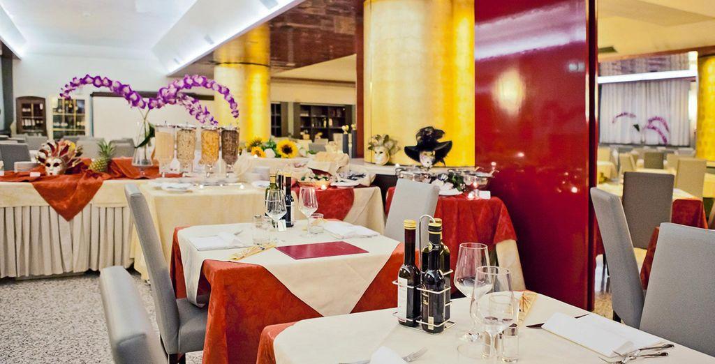 Disfrute de la gastronomía italiana en su restaurante