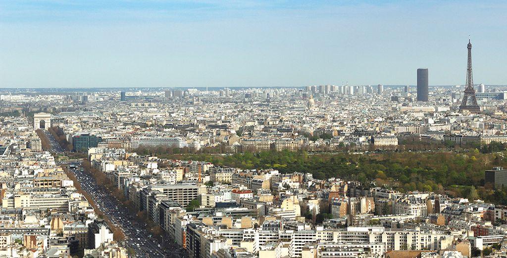 París, una ciudad que le enamorará.