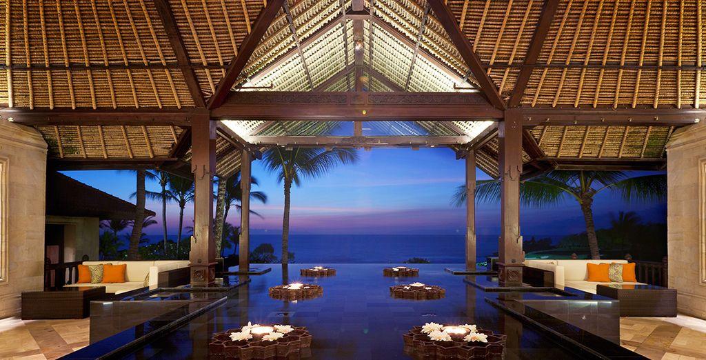 Bienvenido al Hotel Pan Pacific Nirwana Resort en la paradisíaca isla de Bali