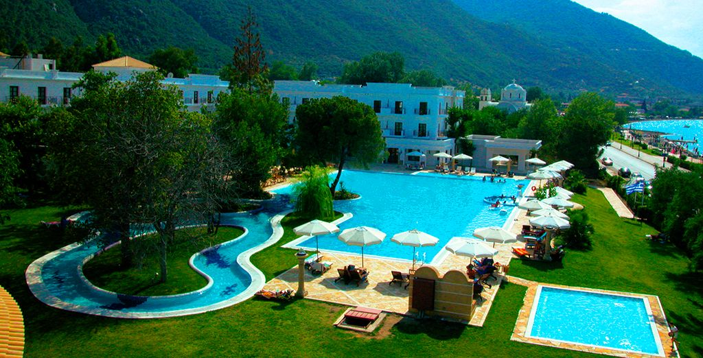 Disfrute de un enclave mágico en Grecia