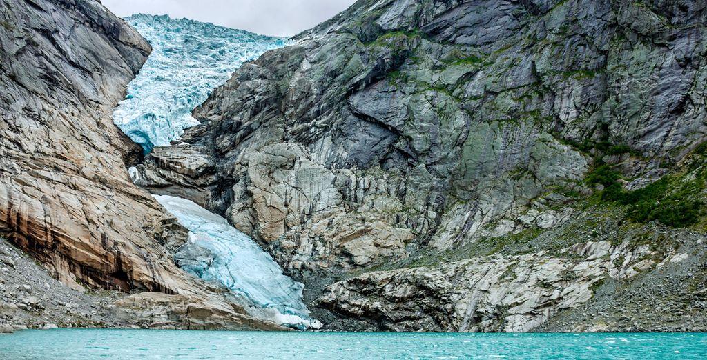 El Lago Jolstra, una sorprendente muestra de la acción de los glaciares
