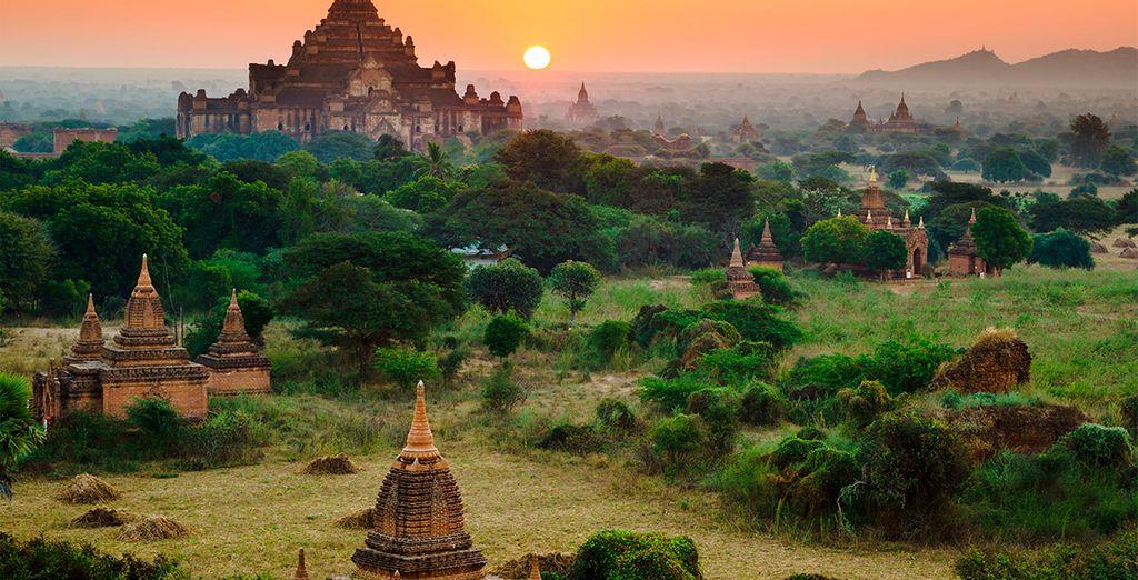 Deje que la magia de Mandalay le enamore