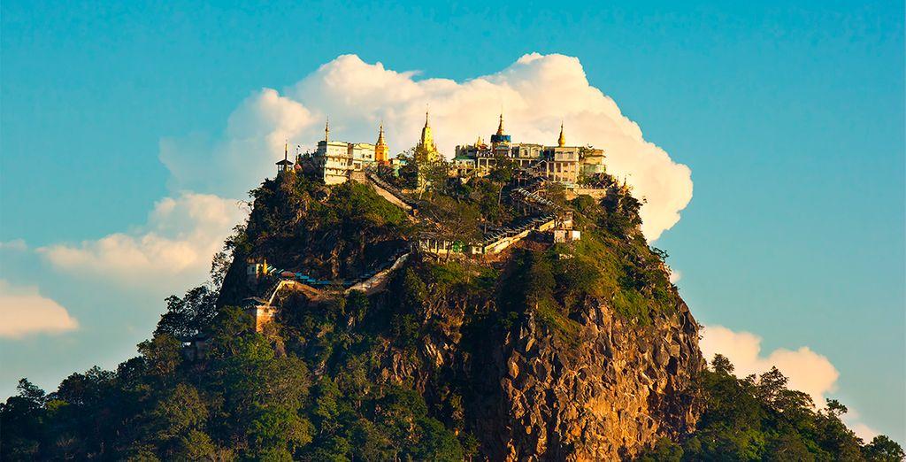 El Monte Popa, peculiar y hermoso como pocos destinos