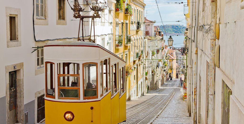 Los famosos tramvías de Lisboa