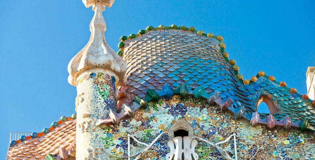 Casa Batlló, a pocos metros del hotel