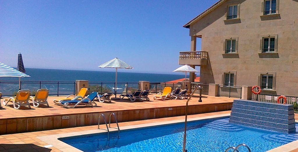 Un hotel con fantásticas vistas al mar