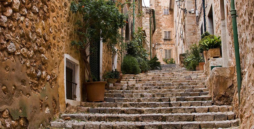 Pasee por las calles de Mallorca, lugares únicos que le encantarán