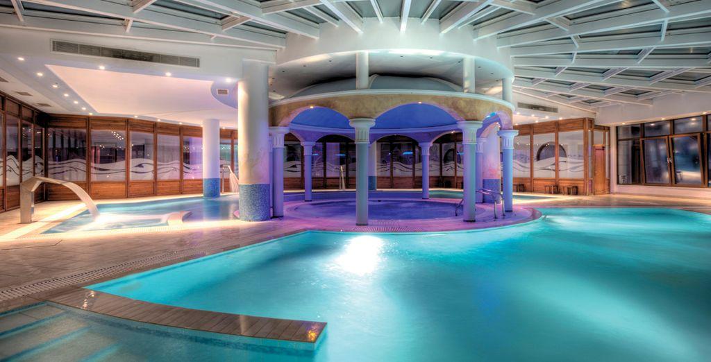 El Spa del hotel, un regalo para el cuerpo y el alma