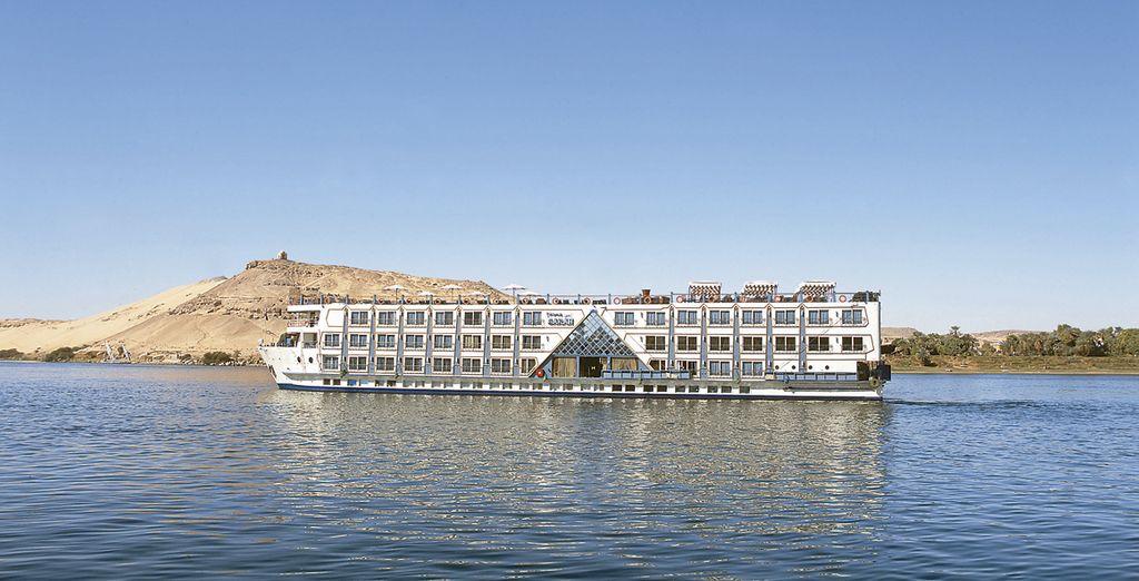 Conozca la magia de Egipto navegando por el río Nilo a bordo del M/S Princess Sarah