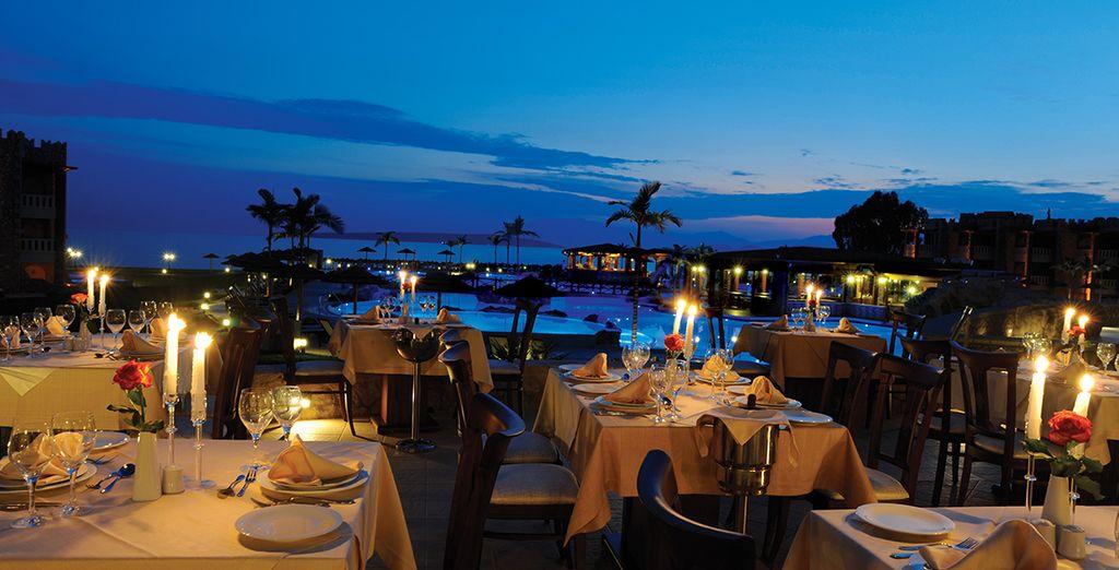 Magníficas cenas junto al mar