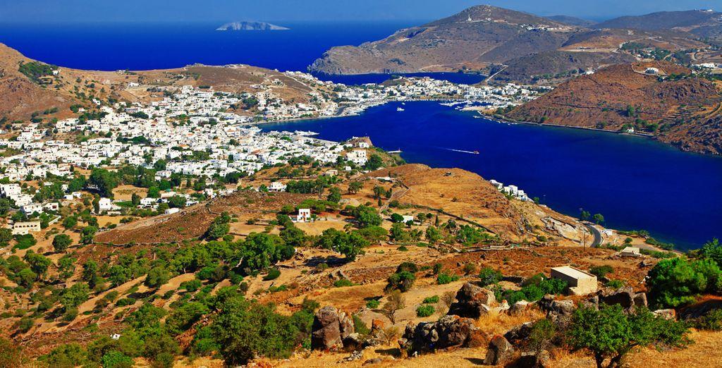 En Patmos tendrá la posibilidad de visitar el Monasterio de San Juan