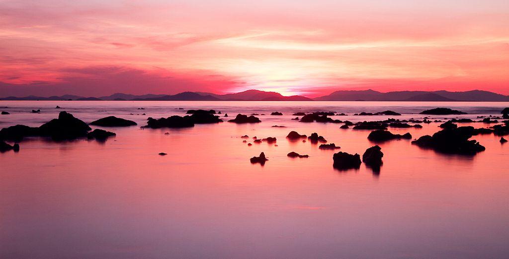 Un trozo de paraíso junto al mar de Andamán