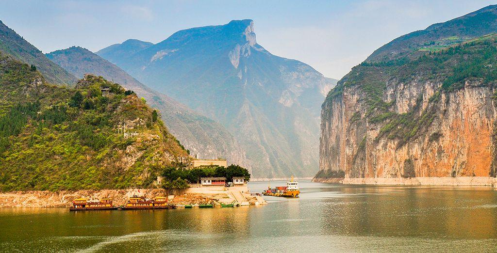 Un crucero le llevará por el río Yangtze