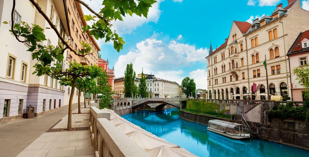 Liubliana, capital de Eslovenia, una ciudad llena de encanto