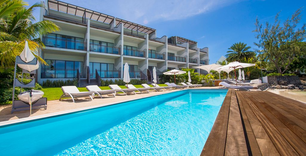 Un resort equipado con todo lujo de detalles