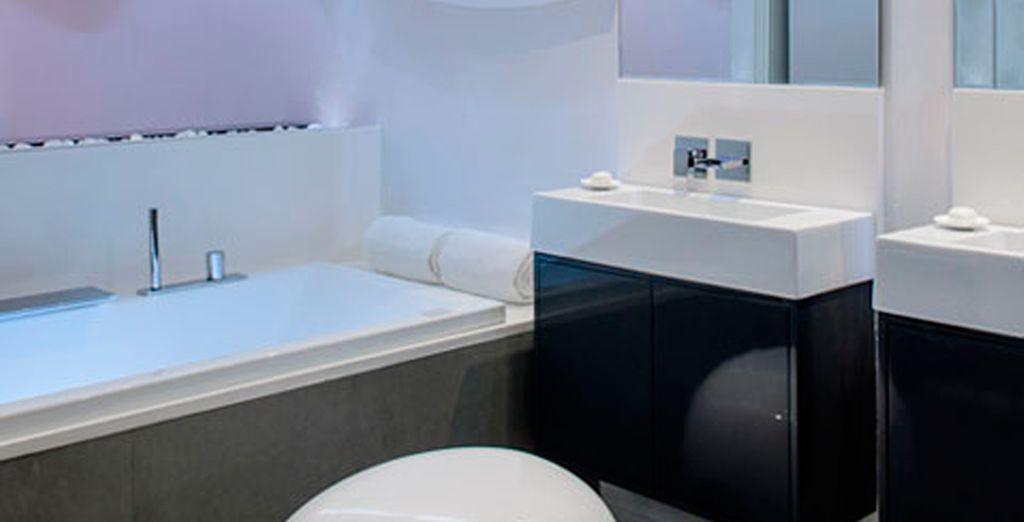 Baños de diseño para su comodidad