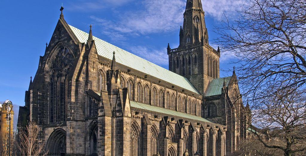 Catedral de Glasgow, uno de sus monumentos más destacados
