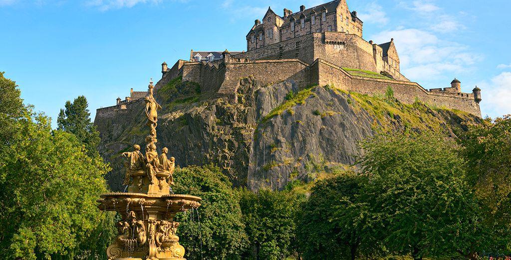 Una visita imprescindible: el Castillo de Edimburgo